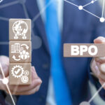 Business Process Outsourcing BPO Concept.